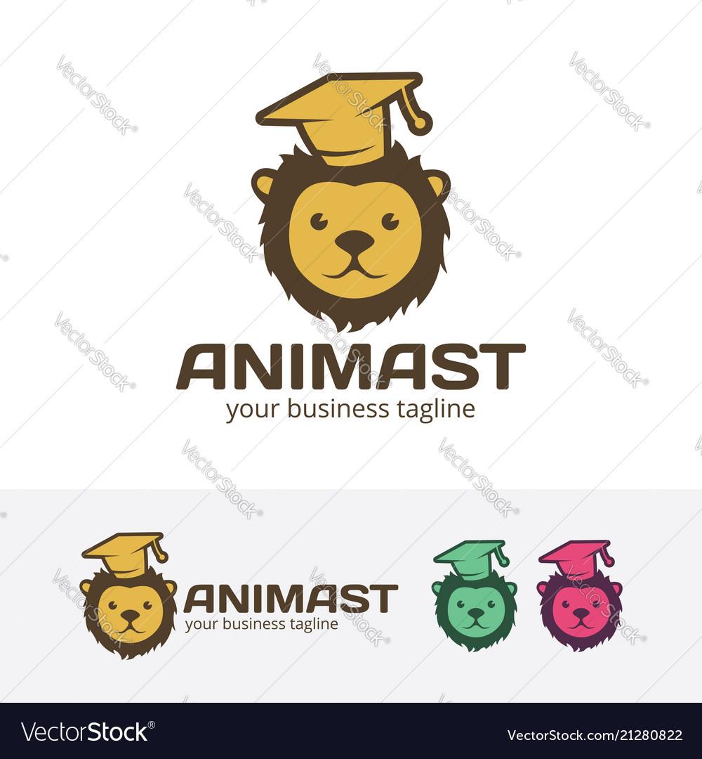 Animal learn logo design