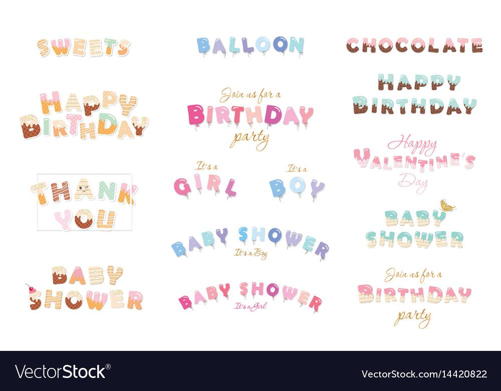 Happy birthday baby shower valentine s day