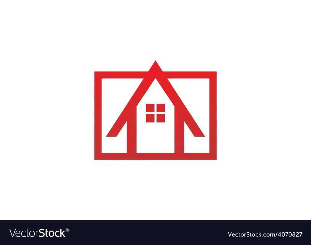 House architecture logo