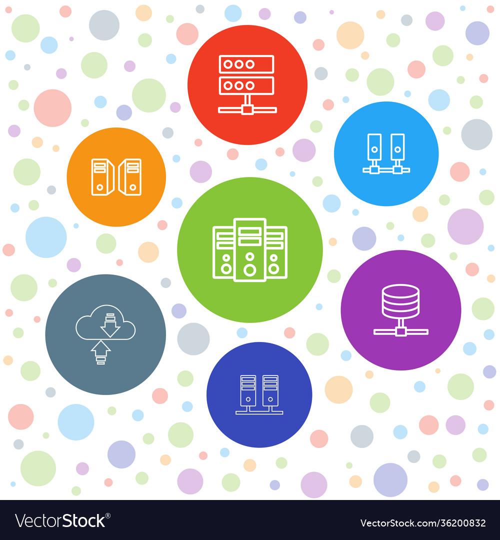 7 database icons