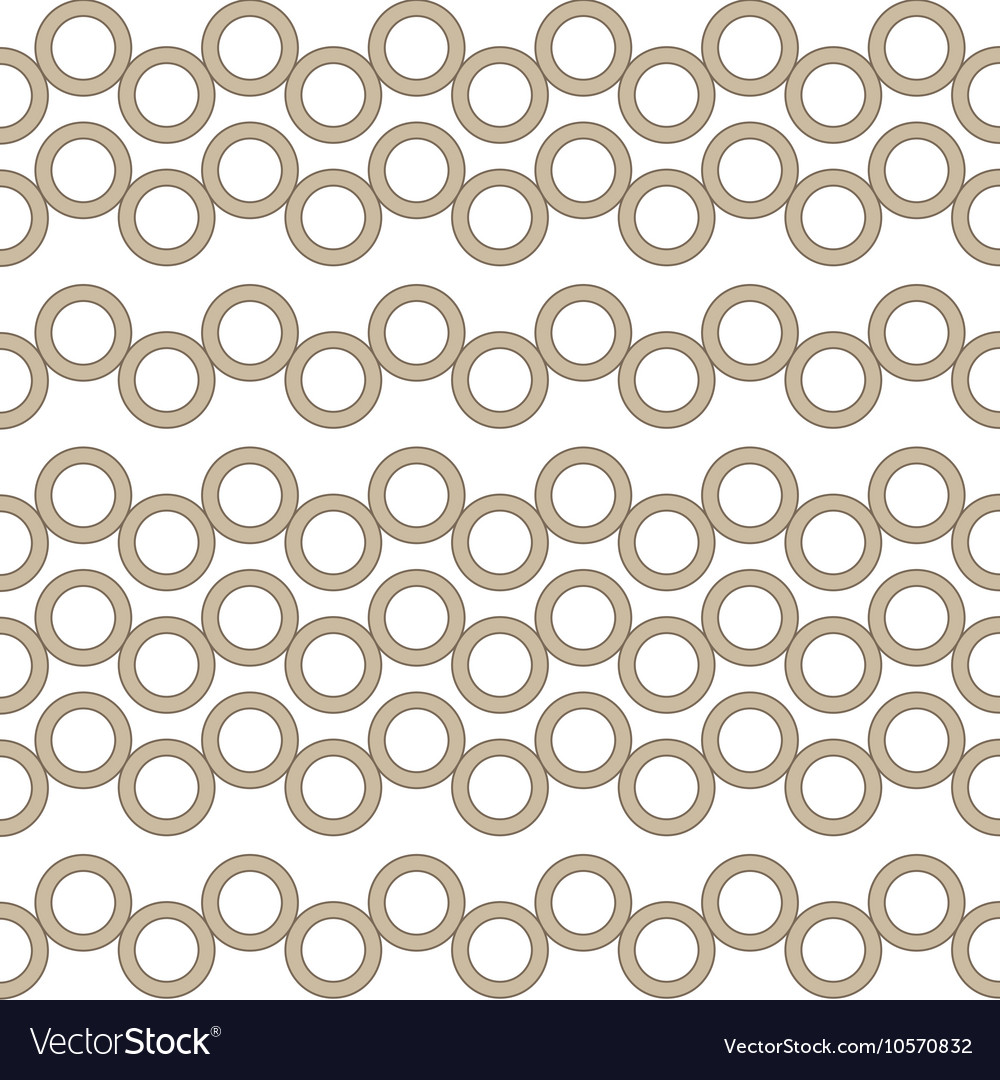 Brown circles seamless