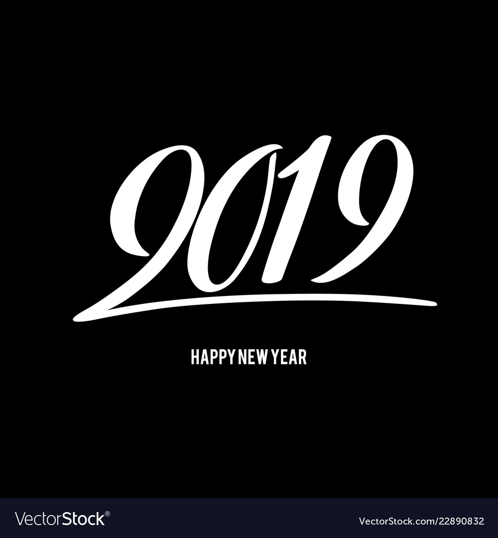 Happy new 2019 year with