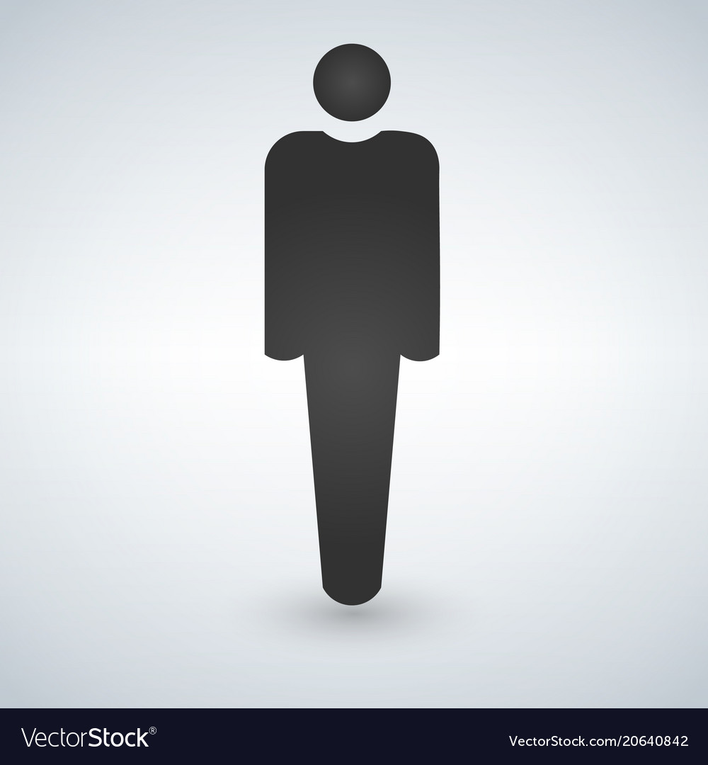 Human icon male icon
