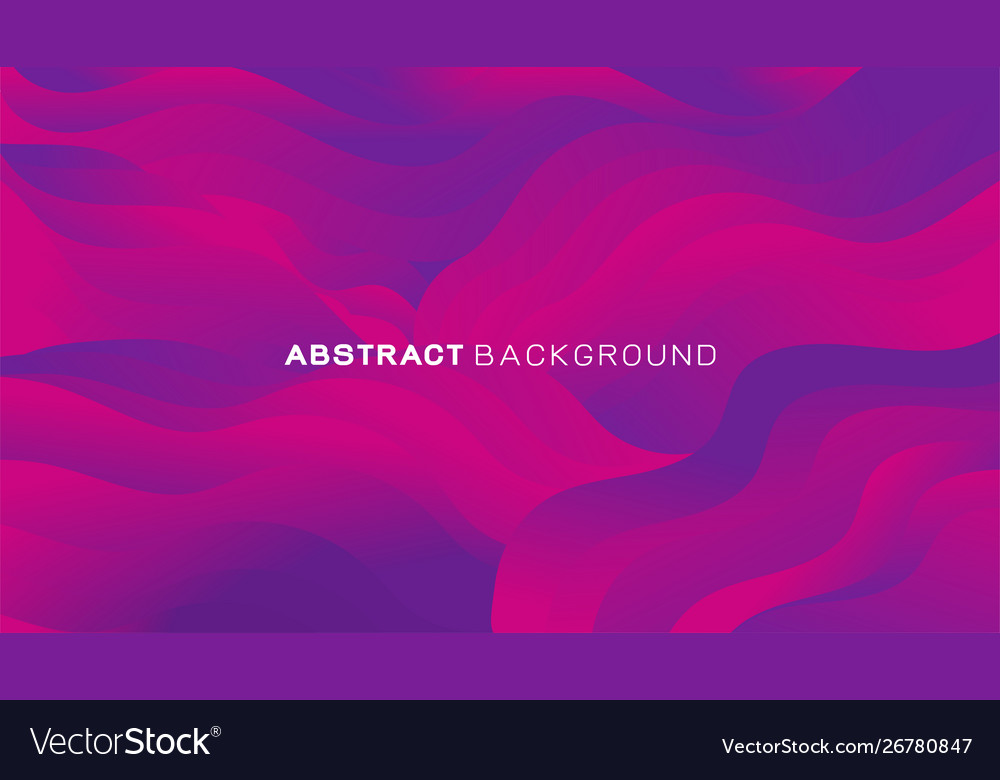 Abstract gradient wavy shapes background