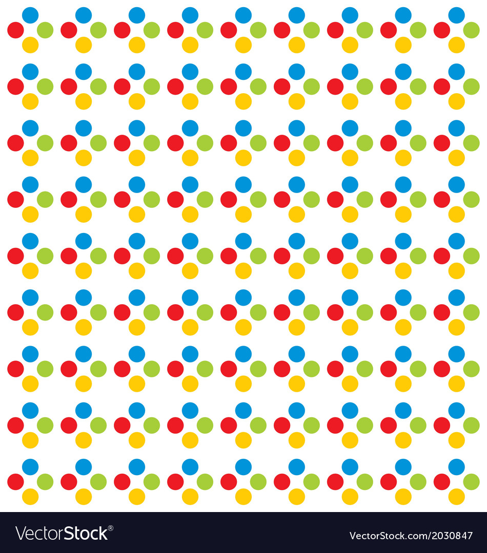 Colorfull Dot Pattern
