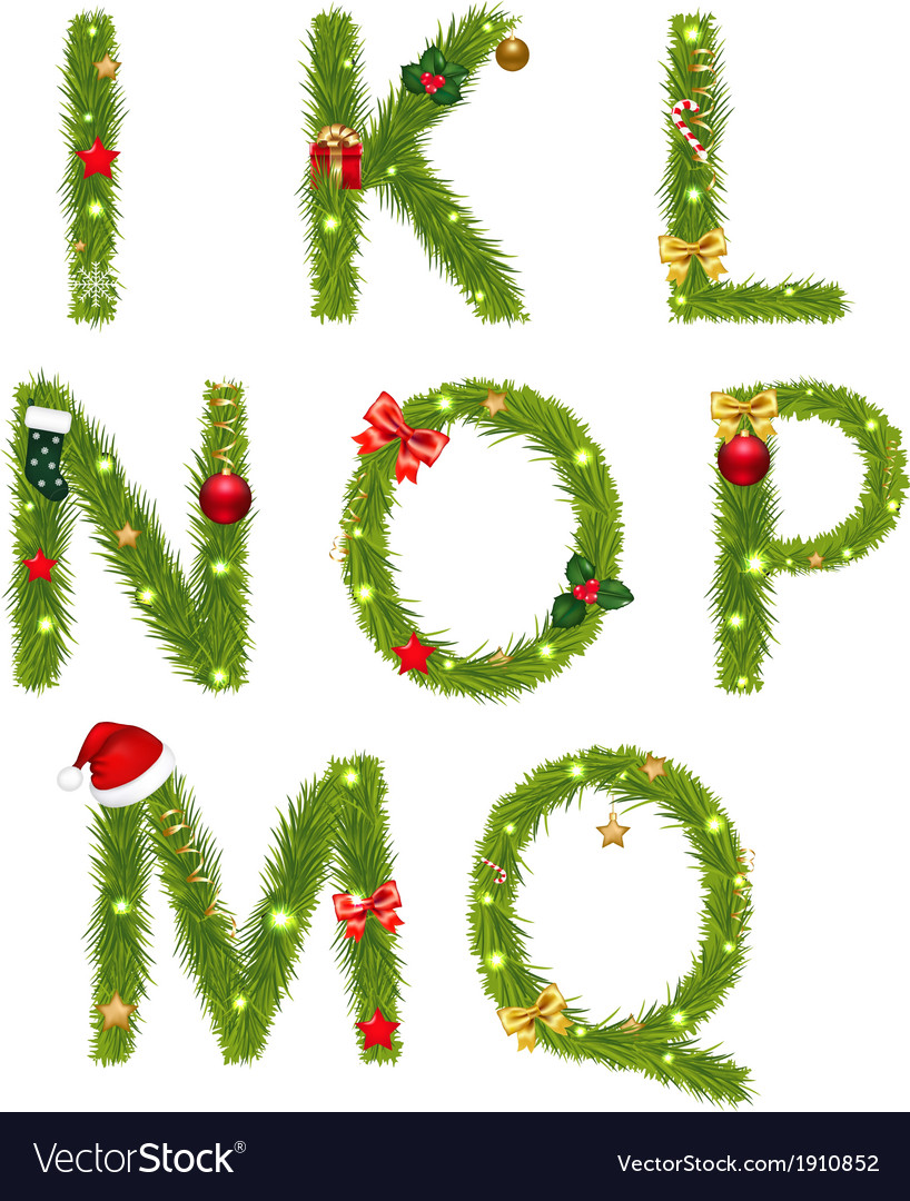 Christmas Alphabe