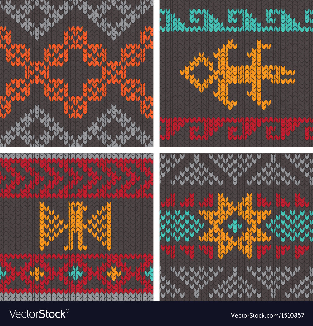 Andean knitting pattern