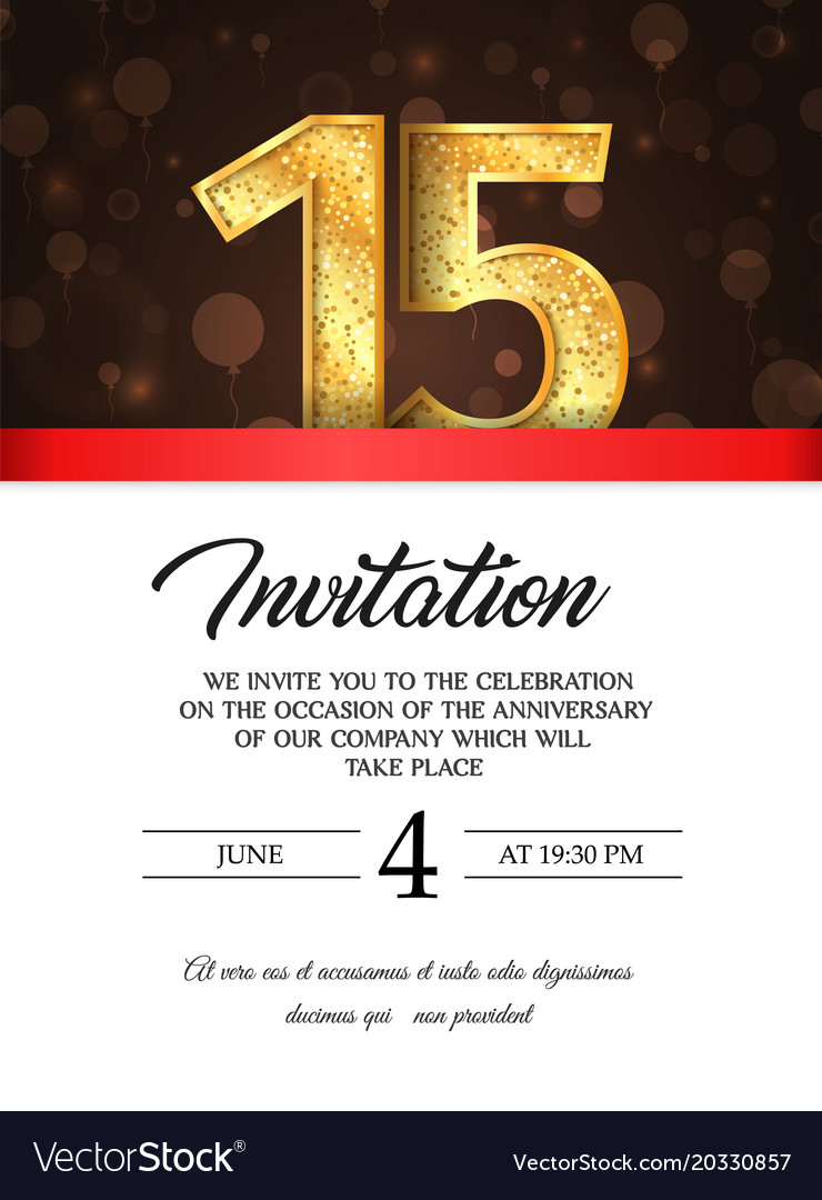 Template Of Invitation Card To The Day
