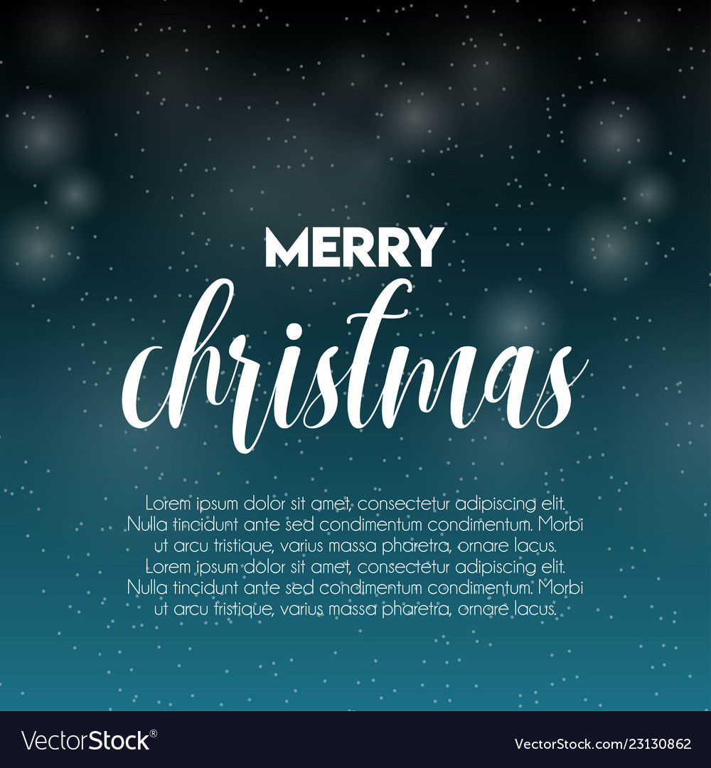 Merry christmas snow pattern background
