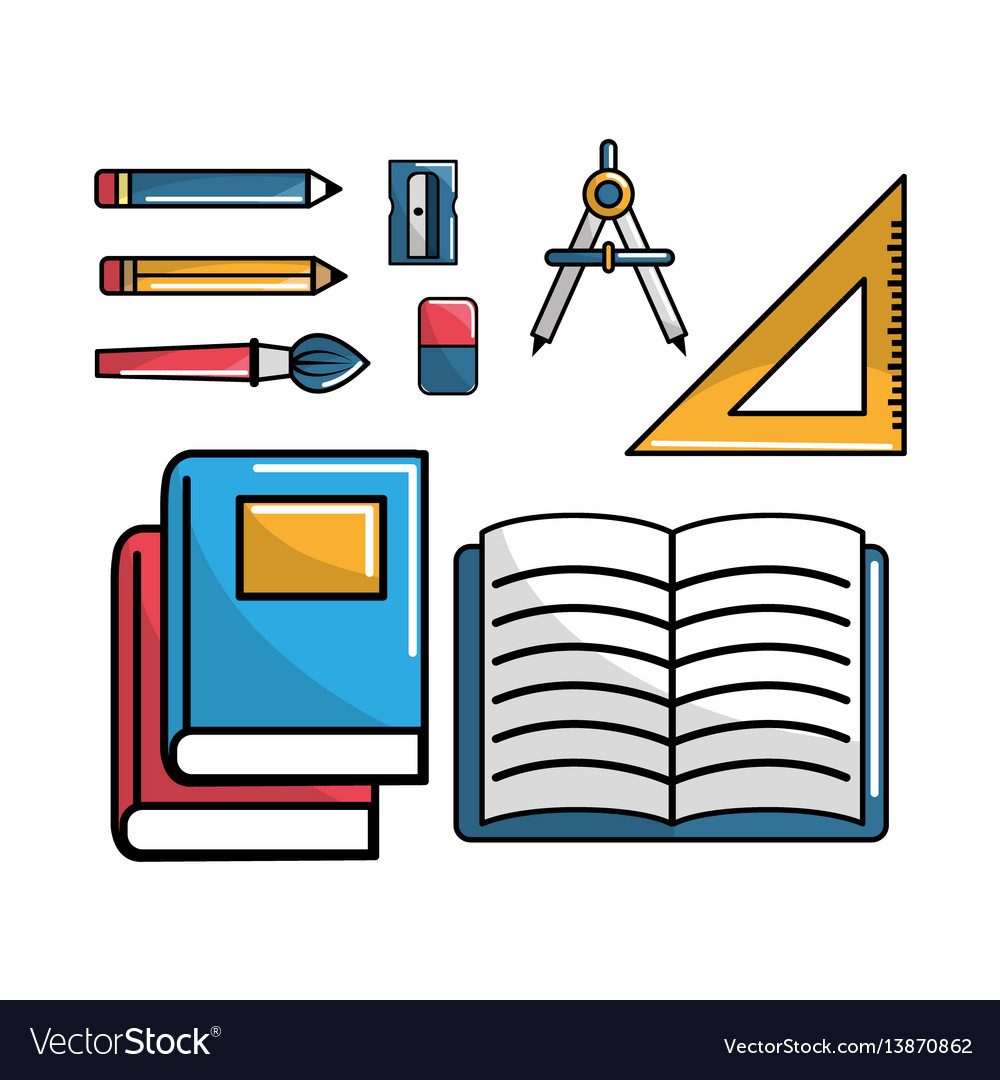 Notebook school tools icon