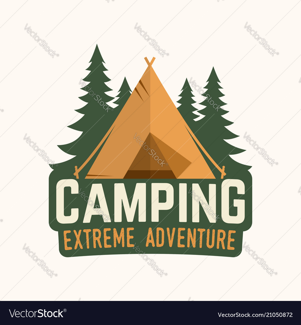 Camping extreme adventure