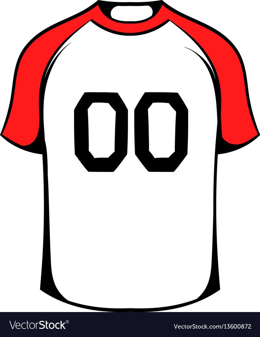 Hockey sweater icon icon cartoon