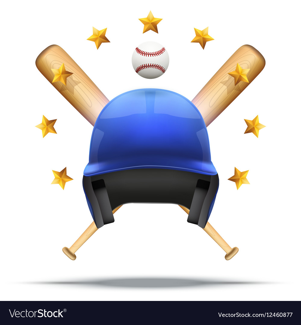 Baseball and Softball symbol vector image