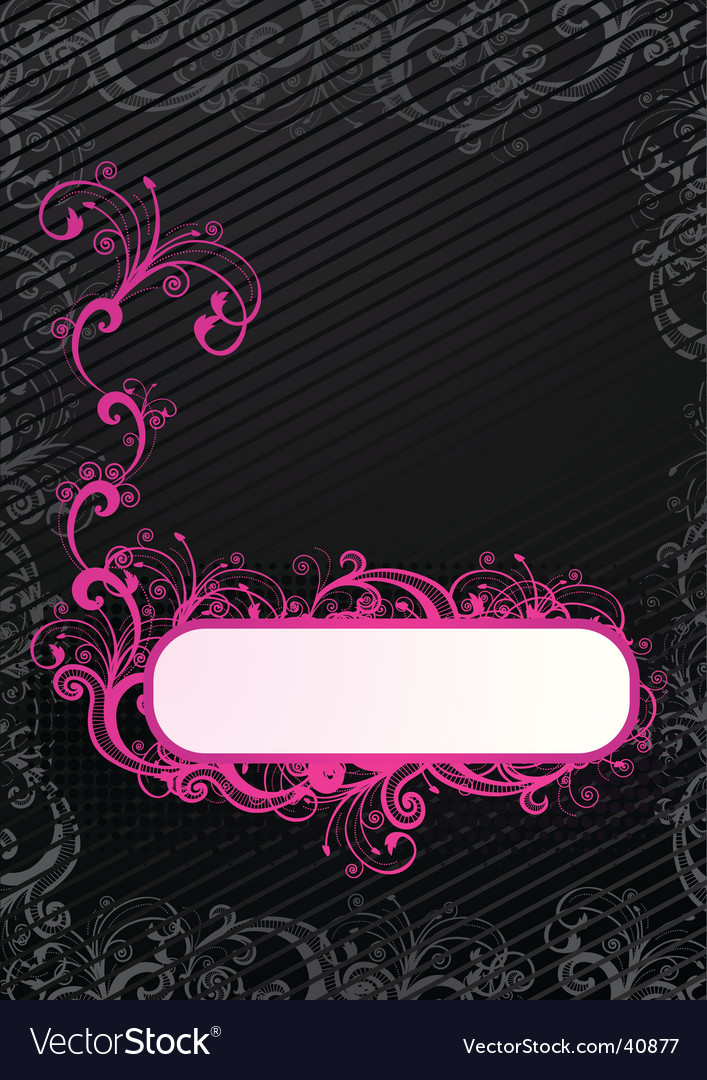 Wallpaper with copy-space vector image