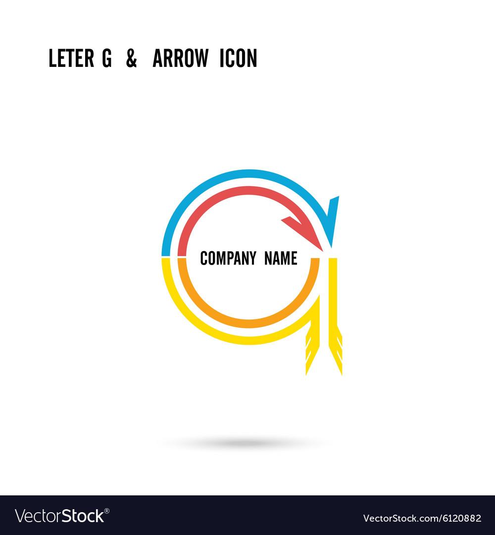 Creative letter G icon logo design
