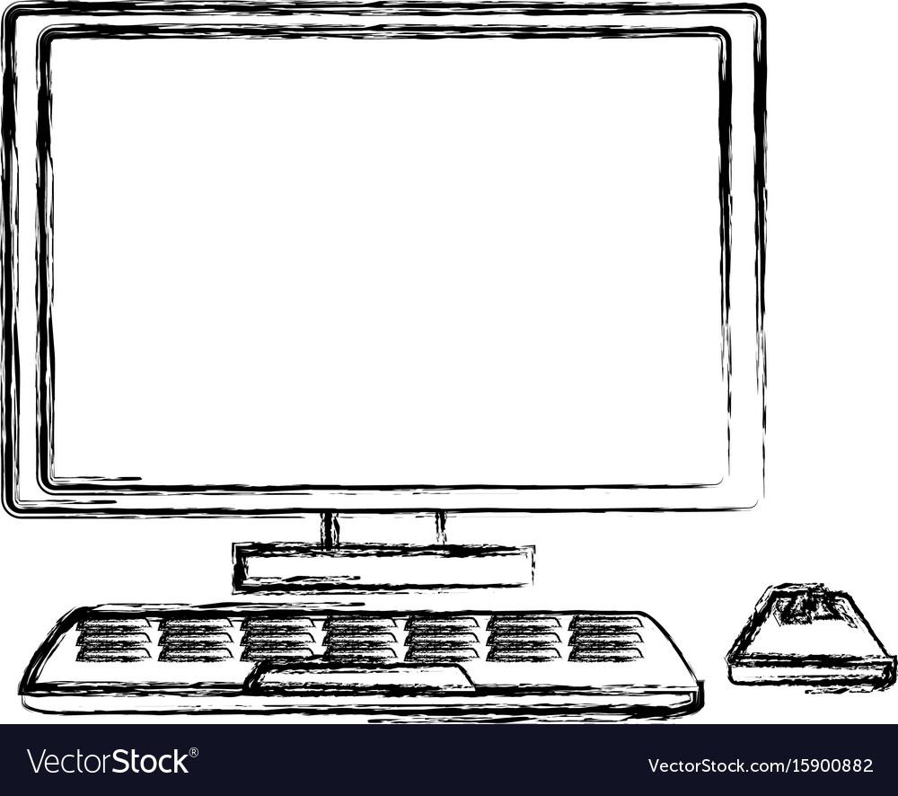 Desk computer technology