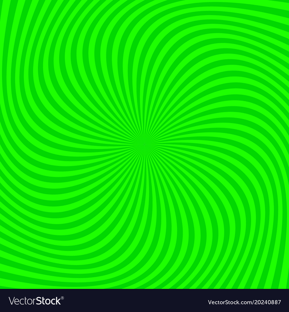 Psychedelic spiral stripe background vector image