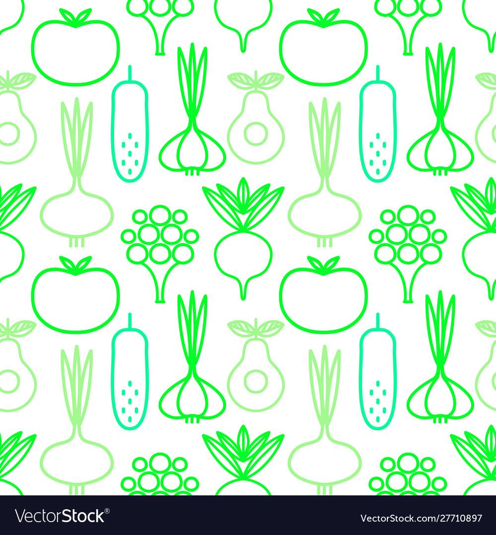 Decorative seamless background vegan organic