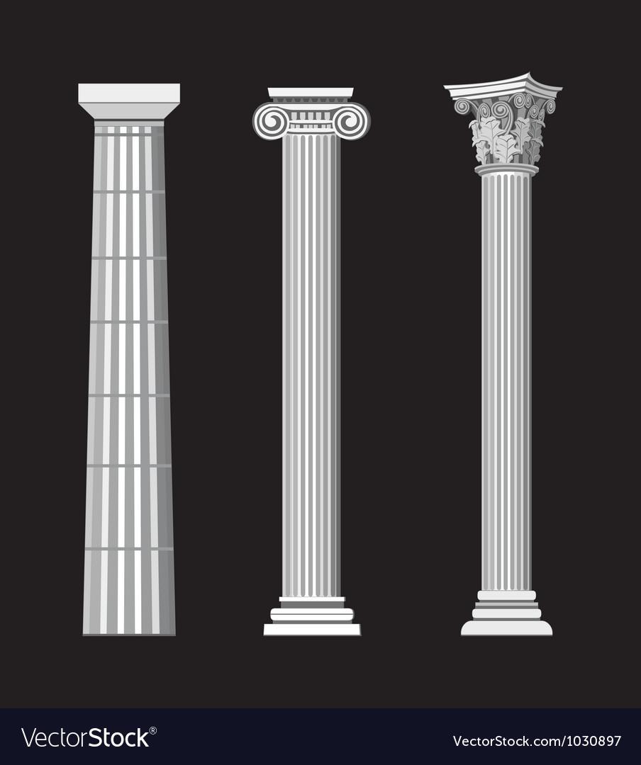 Greek Architecture vector image