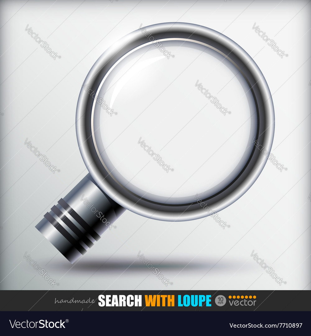 Search With Loupe Icons set