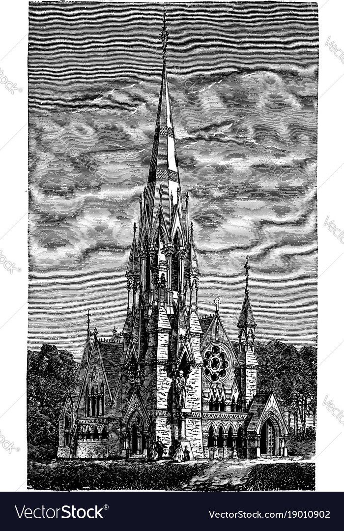 Memorial church or grace at the center of harvard
