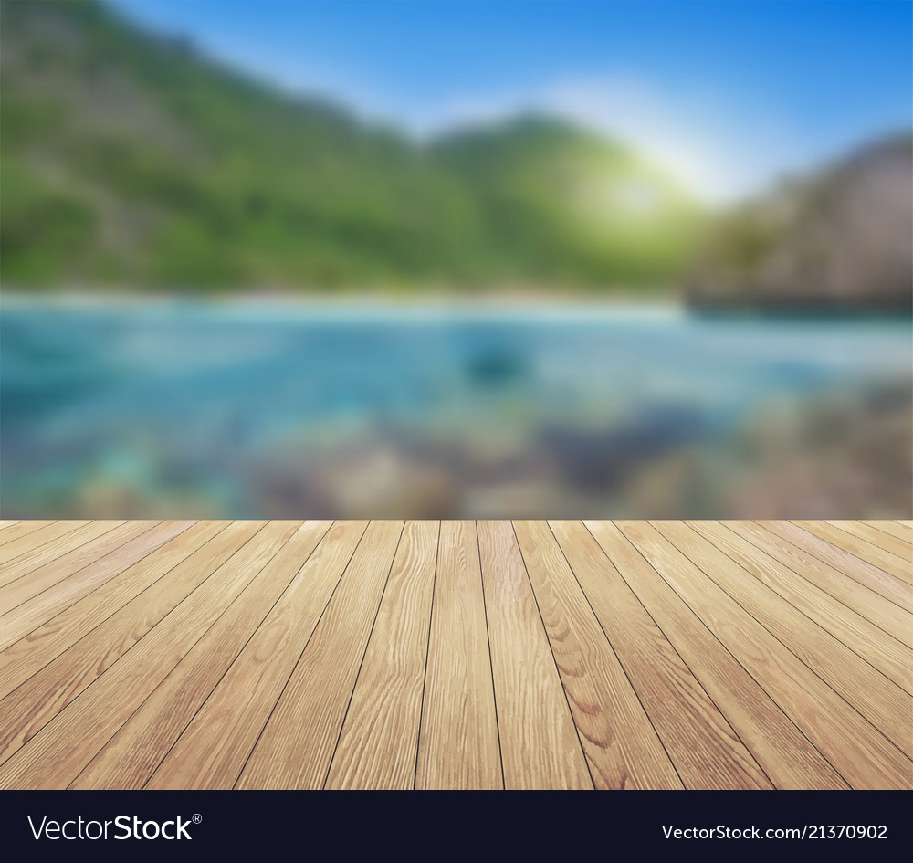 Summer background island blue sky with clouds and