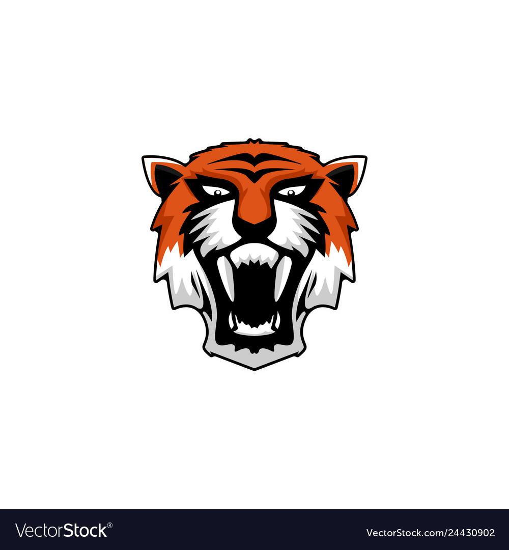 Tiger animal logo inspirations wildlife