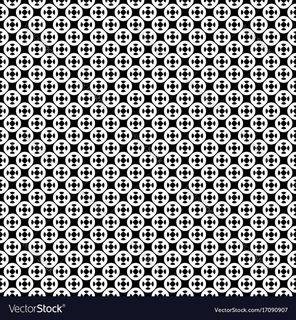 Seamless pattern simple geometric ornament