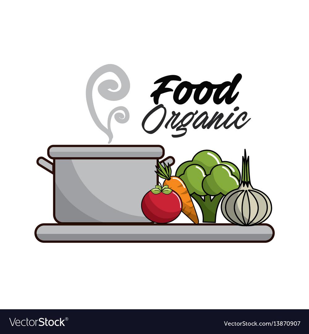 Vegetarian food icon stock