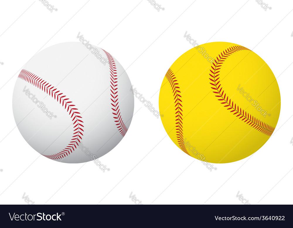 Baseball and Softball Balls