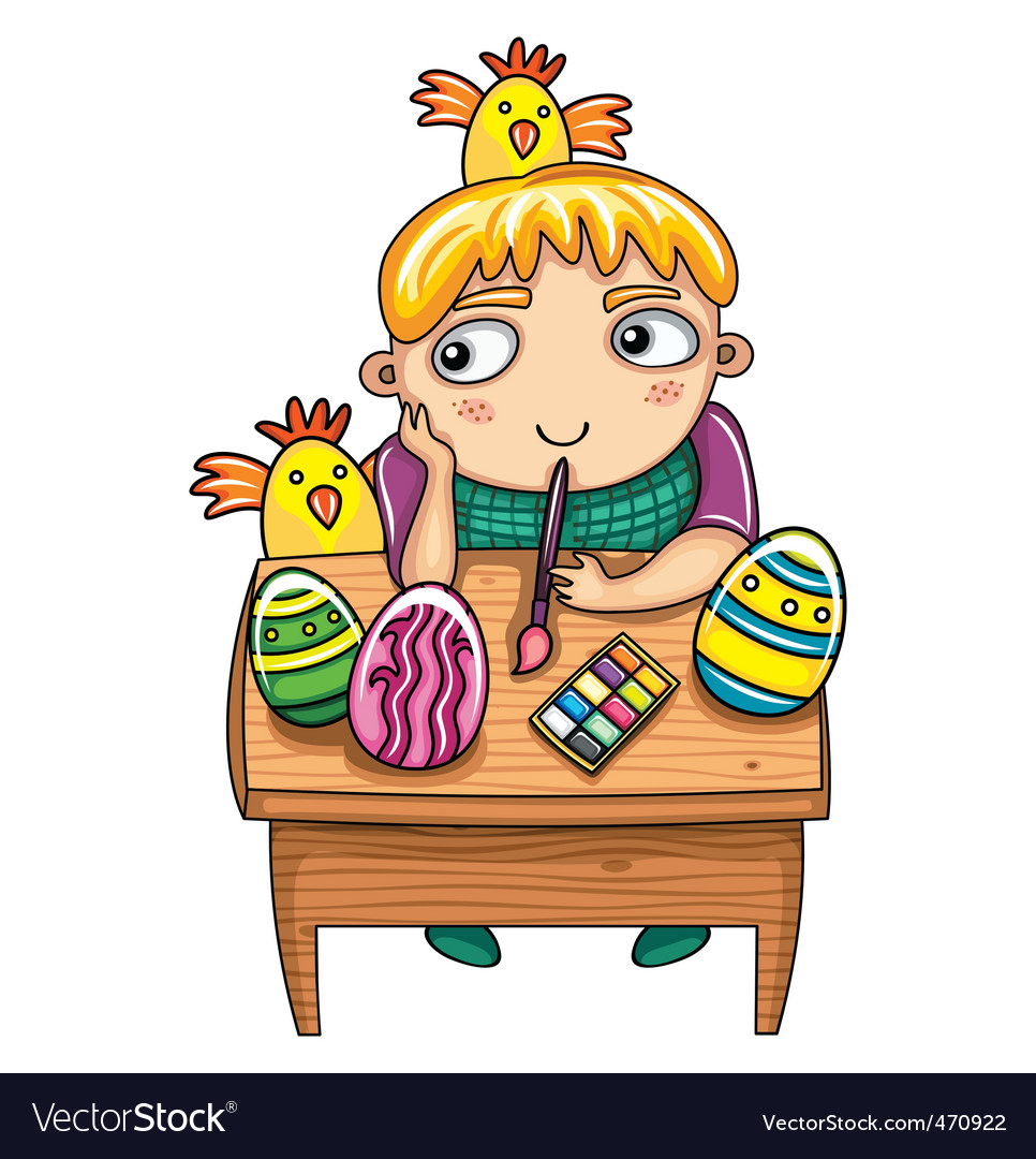 Easter kid