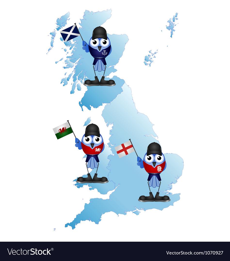 British Isle map