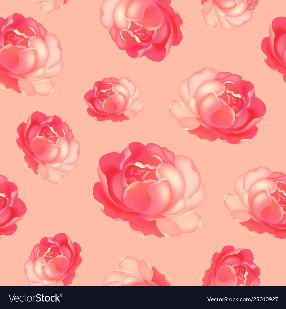 Roses pattern bunch of flowers repeating print