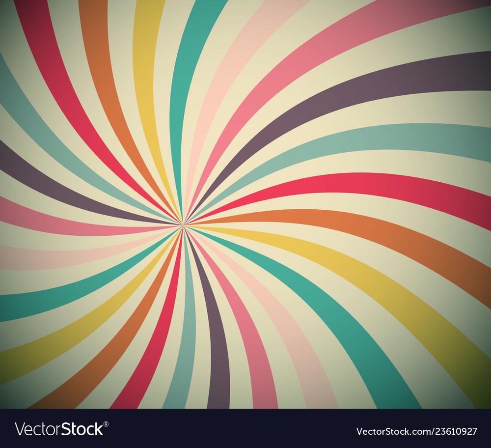 Vintage star shaped background vignetting radial