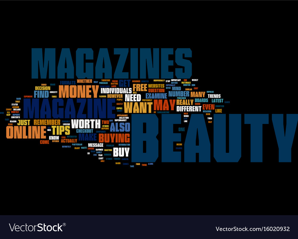 Beauty make up text background word cloud concept