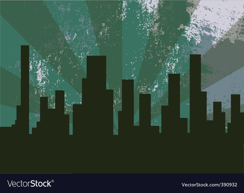 City at the night