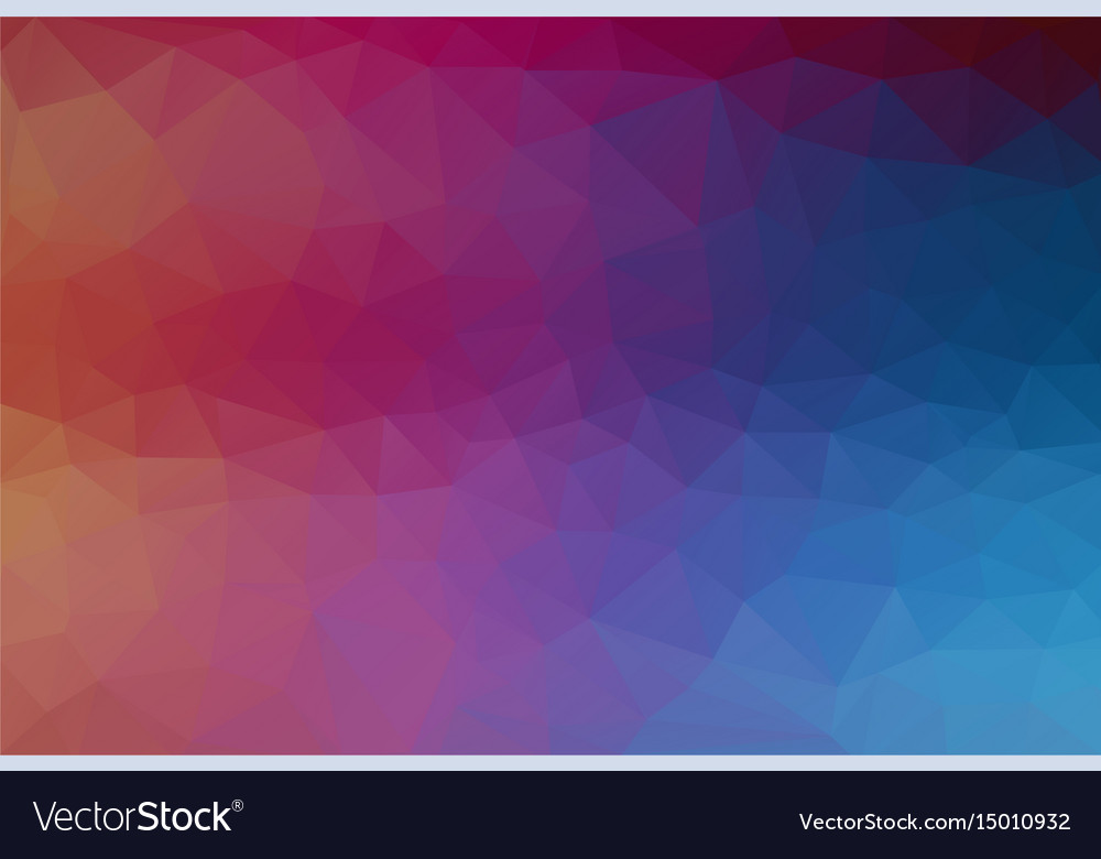 Original gradient color background with triangle