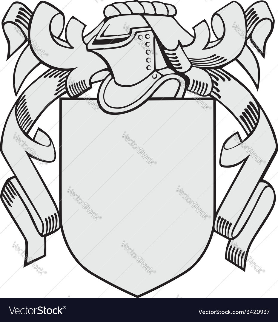 Aristocratic emblem No19 vector image