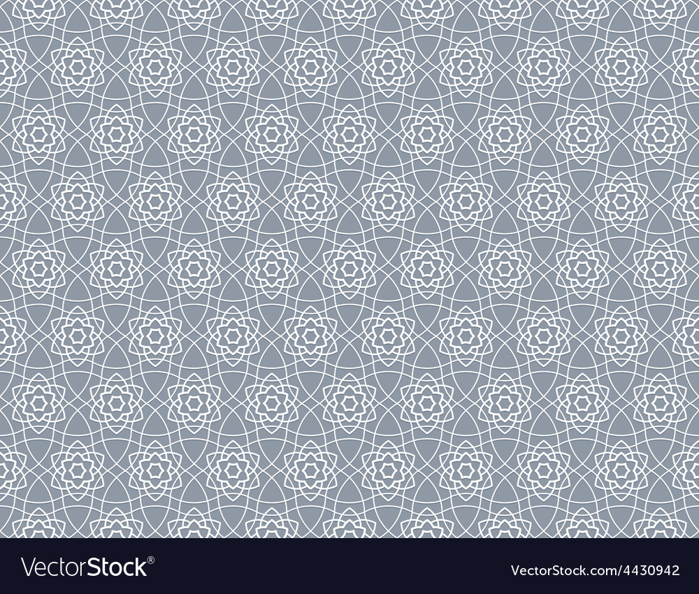 Background with arabian pattern vector image
