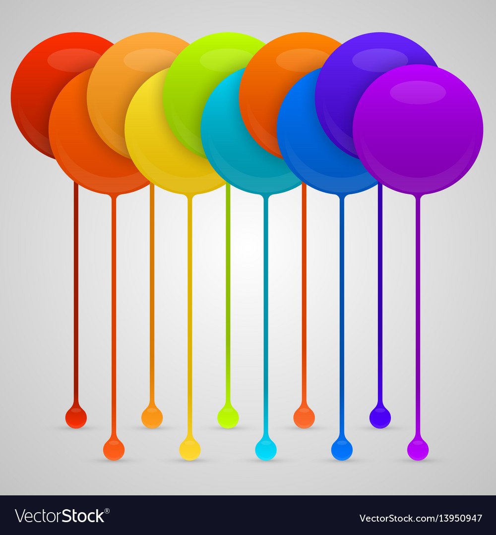 Colored paint drips background