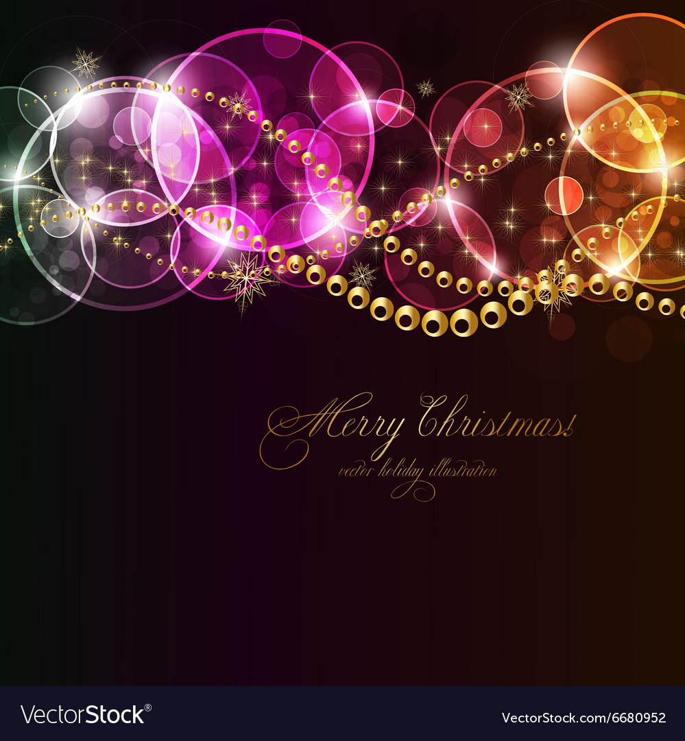 christmas invitation background royalty free vector image