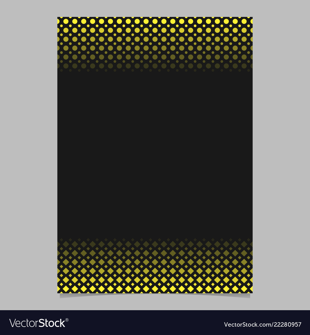 Abstract halftone geometrical dot and square