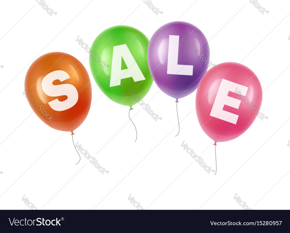 Balloons with sale