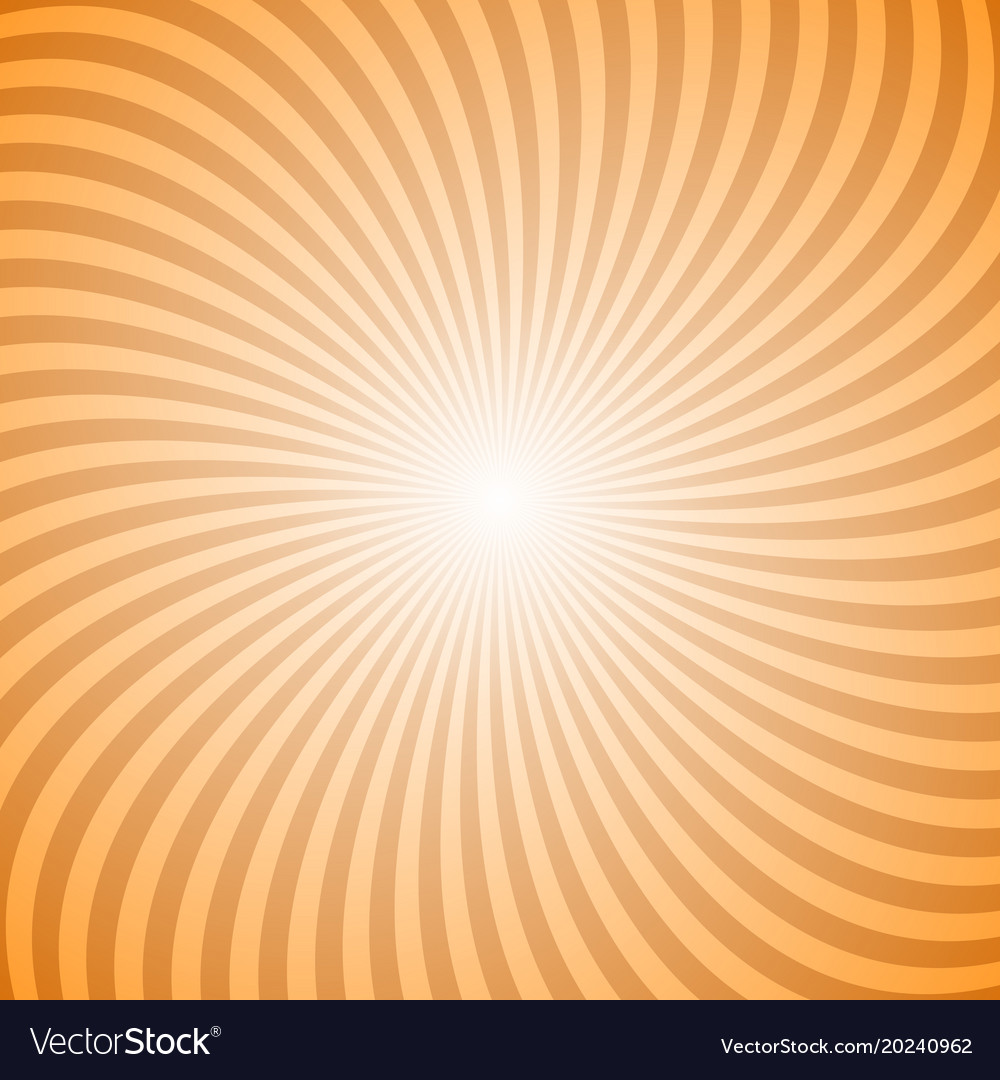 Abstract spiral ray background from rotating rays