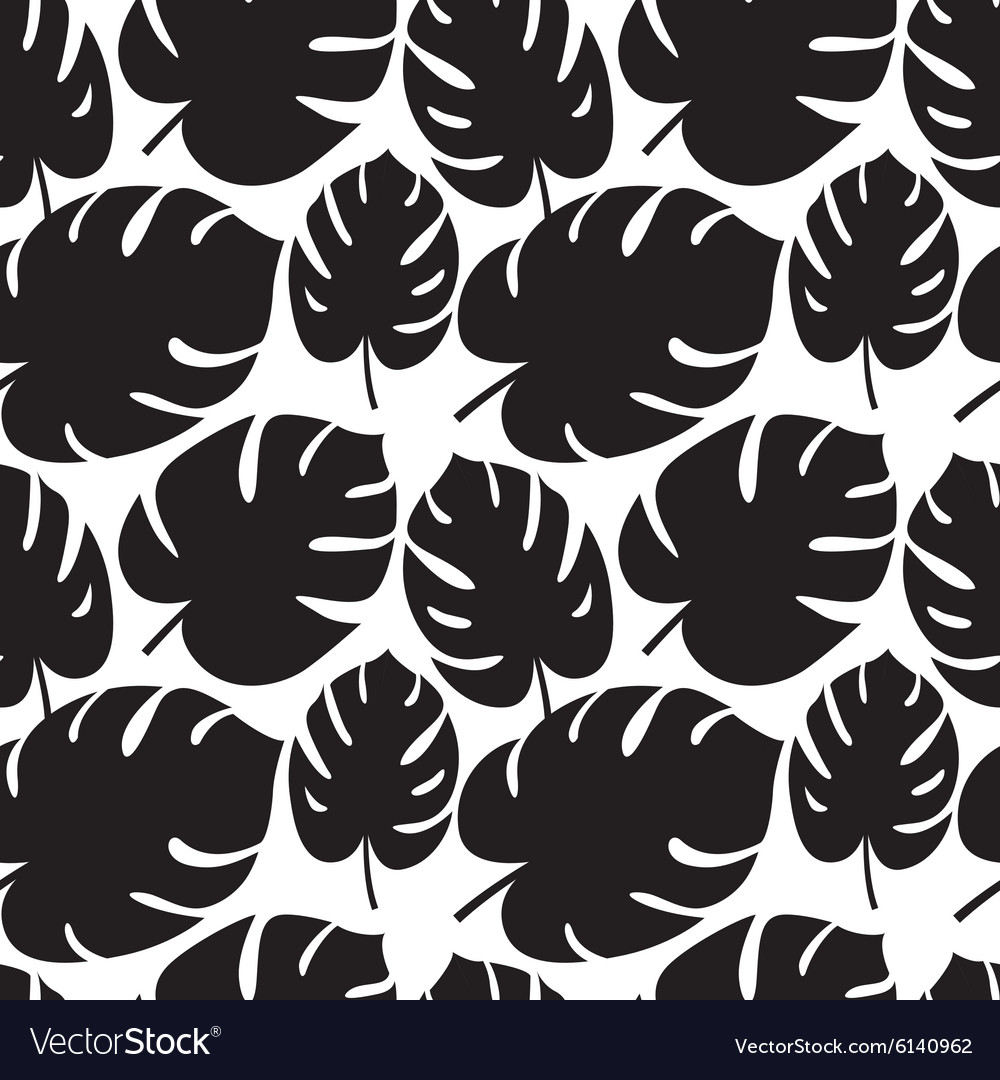 Beautiful seamless tropical jungle floral graphic
