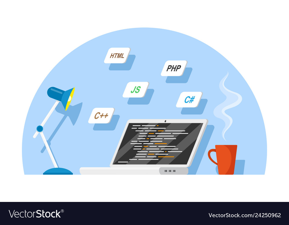 Software Development Concept Royalty Free Vector Image
