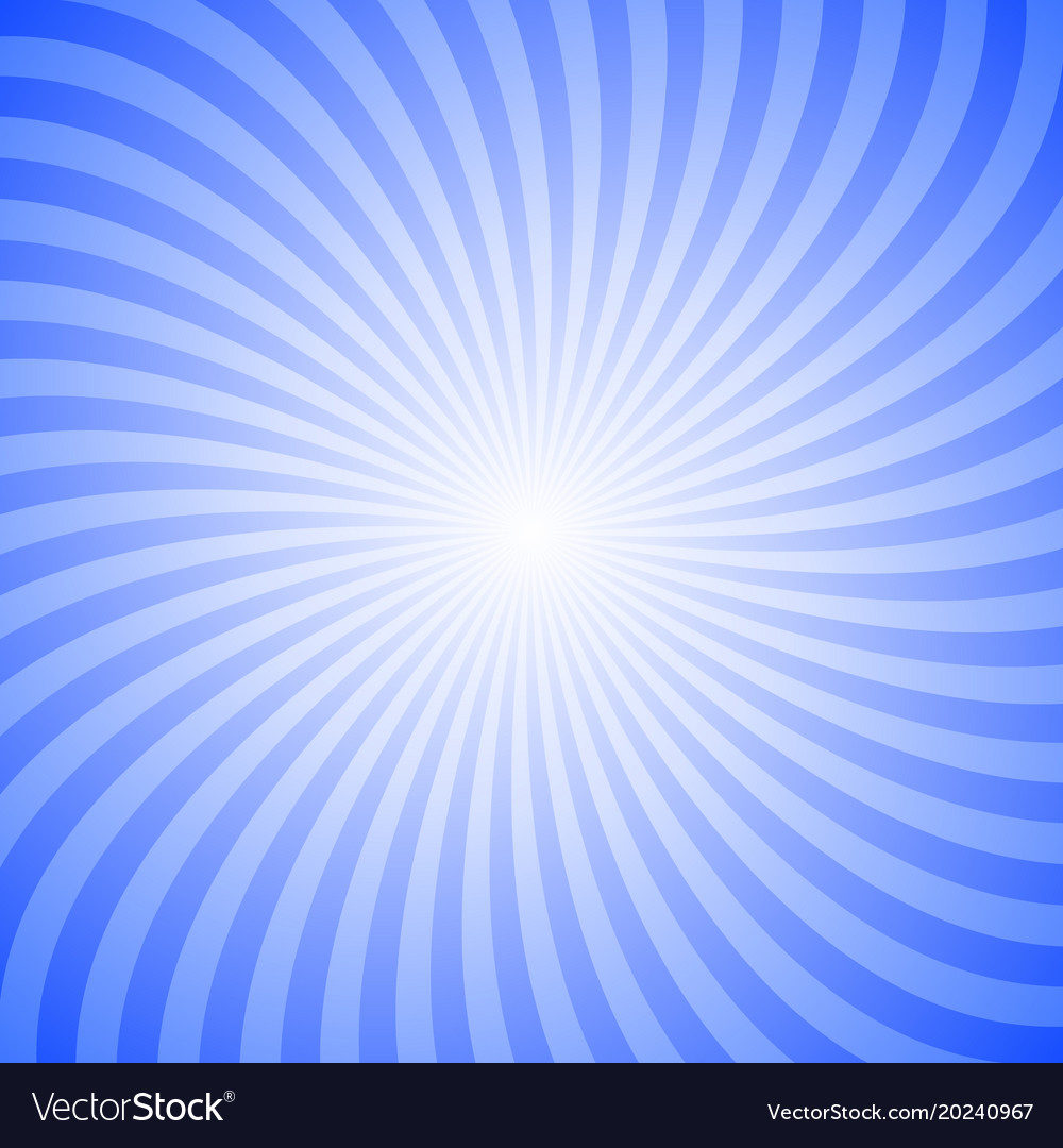 Geometric swirl background from rotating rays