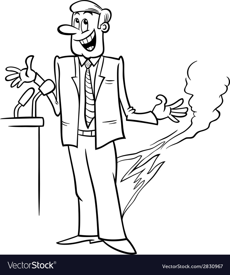 Pants on fire saying coloring page Royalty Free Vector Image