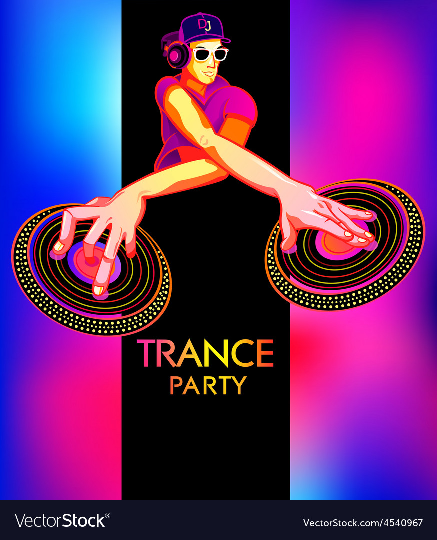 Neon Club Flyer Electro Dance Music Trance Party Dj Electronic Sound Fest  Techno Event Poster Stock Illustration - Download Image Now - iStock