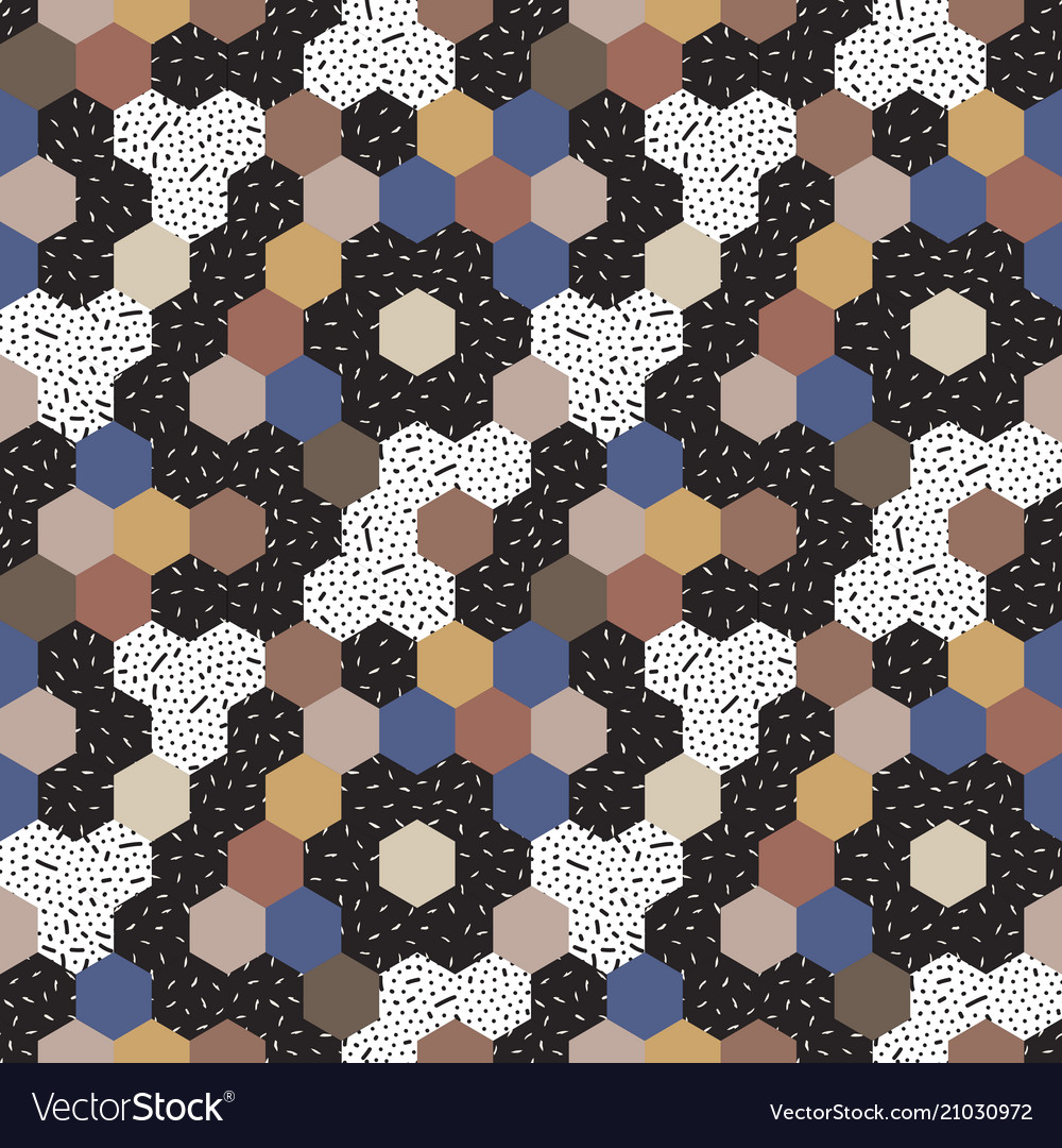 Abstract seamless pattern mosaic
